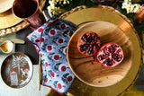 ROSE - BLOCK PRINTED NAPKINS