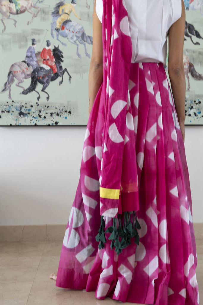 SUNRISE SAREE- STITCHED SAREE (READY MADE)