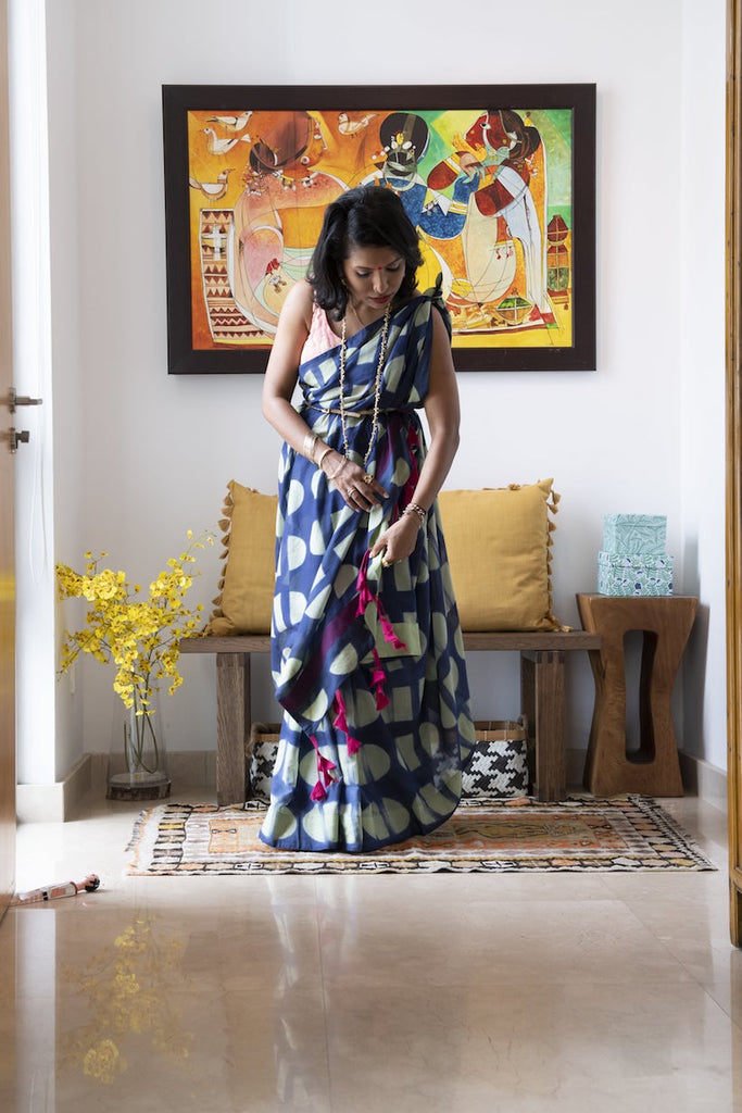 SUNSET - UNSTITCHED SAREE
