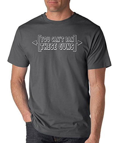 SignatureTshirts Men's You Can't Ban These Guns T-Shirt