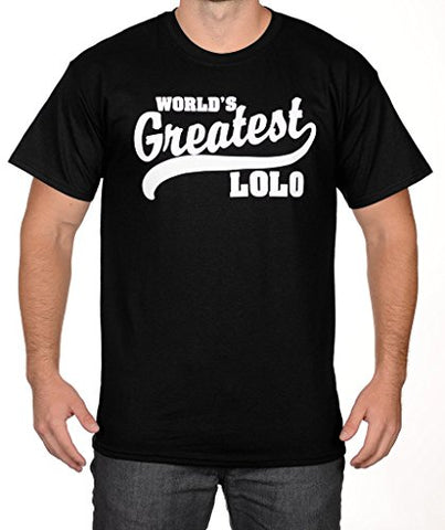 SignatureTshirts Men's World's Greatest Lolo T-Shirt
