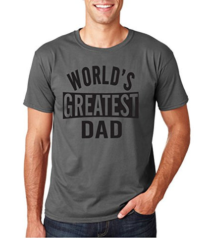 SignatureTshirts Men's Worlds Greatest Dad Father's Day T-Shirt