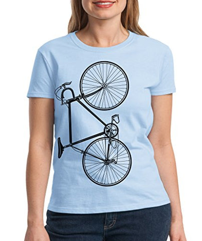 SignatureTshirts Women's Bicycle T-Shirt