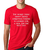 SignatureTshirts Men's Worst Part About Office Christmas Parties Xmas T-Shirt