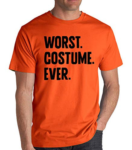 SignatureTshirts Men's Worst Costume Ever Halloween Fun Party Crew Neck T-Shirt