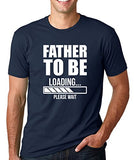 SignatureTshirts Men's T-Shirt -Father to Be Loading - Funny & Awesome 100% Cotton
