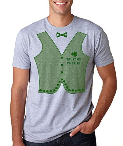 SignatureTshirts Men's Trust me I'm Irish St. Patrick's Day Irish Funny Party T-Shirt