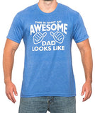 SignatureTshirts Men's This is What an Awesome Dad Looks Like Father's Day T Shirt