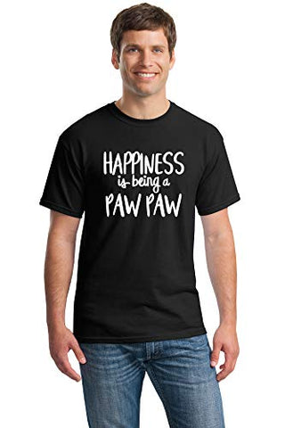 SignatureTshirts Men's Happiness is Being a Paw Paw T-Shirt