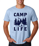 SignatureTshirts Men's Tee, Camp Life - Funny & Cute Apparel - 100% Cotton