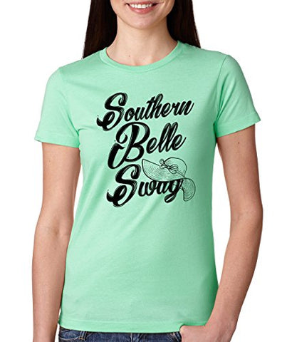 SignatureTshirts Woman's Crew Southern Belle Sway Cute Funny Shirt