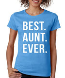 SignatureTshirts Women's Best Aunt Ever T-Shirt
