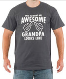 SignatureTshirts Men's This is What an Awesome Grandpa Looks Like T-Shirt