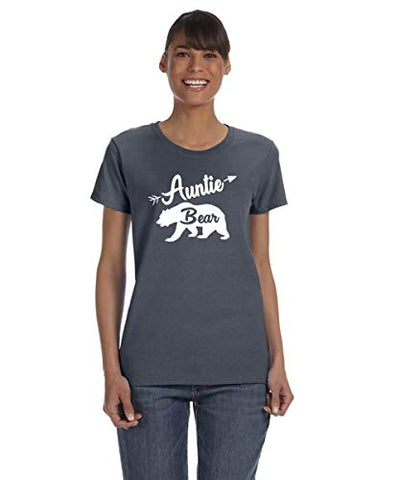 SignatureTshirts Womens Auntie Bear T-Shirt