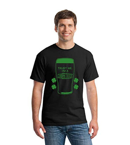 SignatureTshirts Men's Trust me I'm a guinesscologist St. Patrick's Day Irish Funny Party T-Shirt
