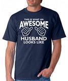 SignatureTshirts Men's This is What an Awesome Husband Looks Like T-Shirt