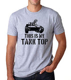 SignatureTshirts Men's This is My Tank Top Funny Military Pun Dad Joke T-Shirt