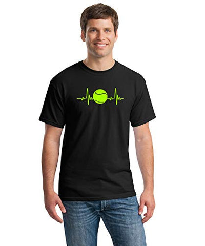 SignatureTshirts Men's Tennis EKG T-Shirt