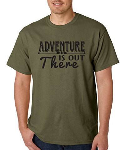 SignatureTshirts Men's T-Shirt Adventure is Out There Tee