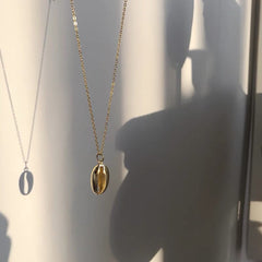 Golden Cowrie Necklace