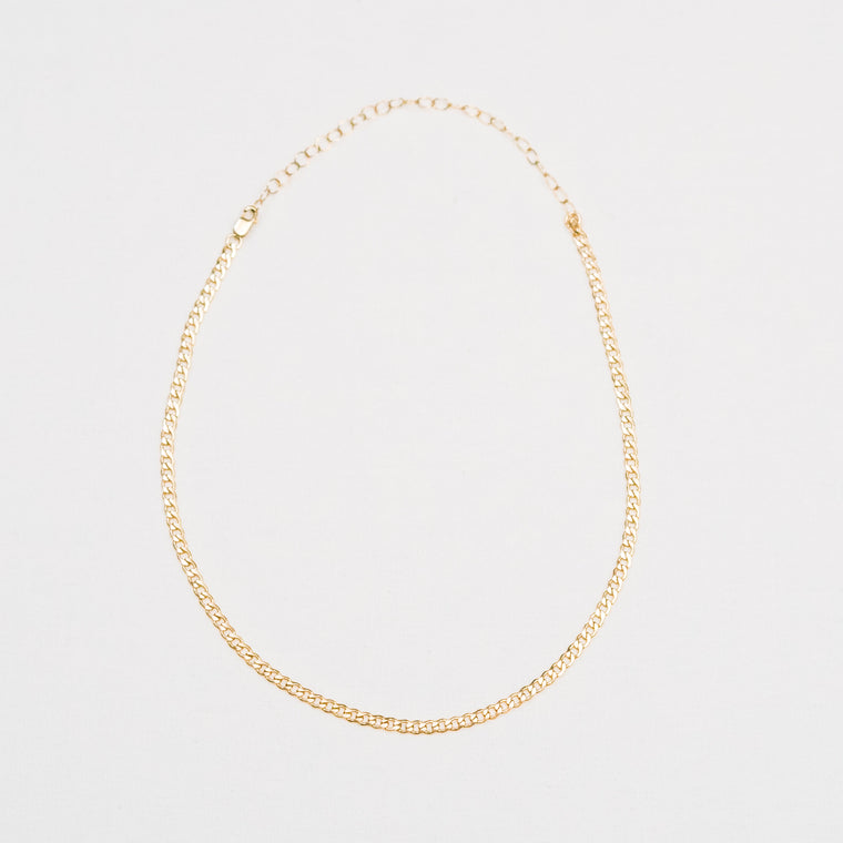 18k Mini Chain Choker