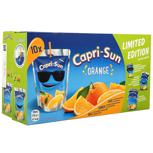 Capri-Sun Orange 10-pack (10 x 20cl)