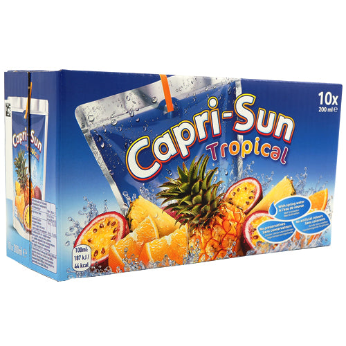 Capri-Sun Tropical 10-pack (10 x 20cl)