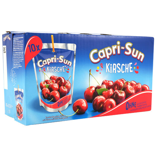 Capri-Sun Cherry 10-pack (10 x 20cl)