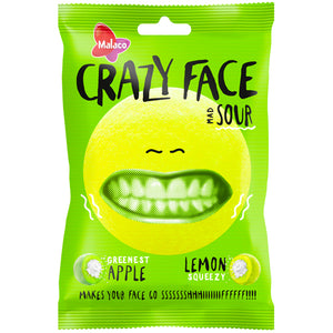 Malaco Crazy face Sour (80g)