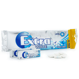 Extra White Sweet Mint (10-pack) (140g)
