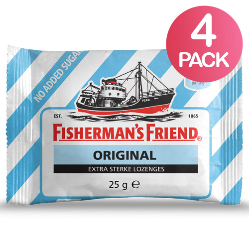 Fisherman's Friend Original Sokeriton 4-pack (4 x 25g)