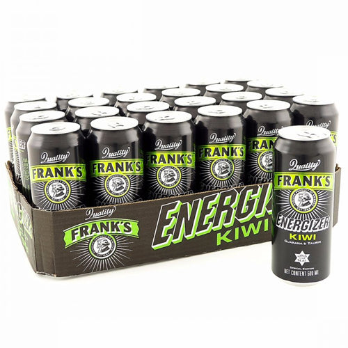 Frank's Energizer Kiwi 24-pack (24 x 50cl)
