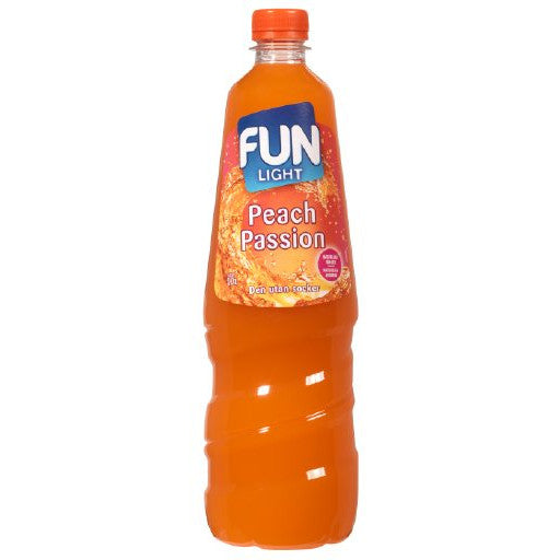 Fun Light Peach Passion Juomatiiviste 1L