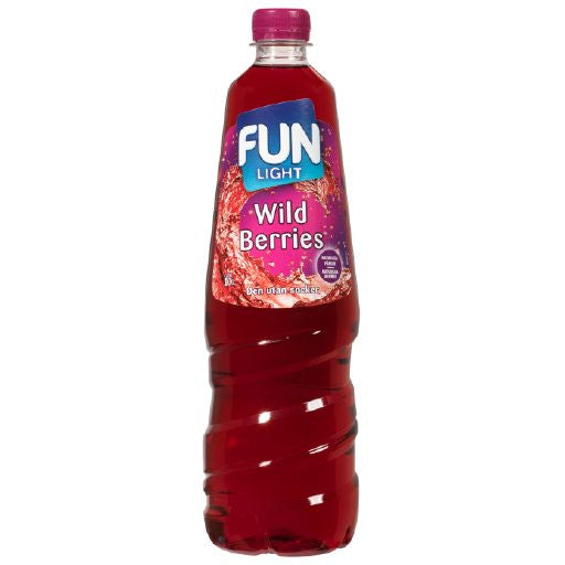 Fun Light Wildberries Juomatiiviste 1L
