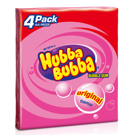 Hubba Bubba Original 4-pack (140g)
