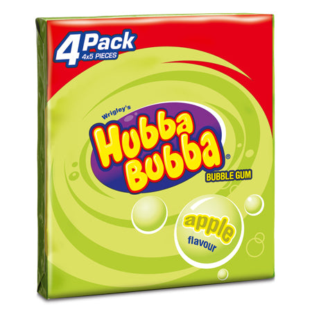 Hubba Bubba Apple 4-pack (140g)