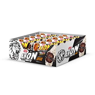 Lion Black & White Vohvelipatukka (40 x 40g)