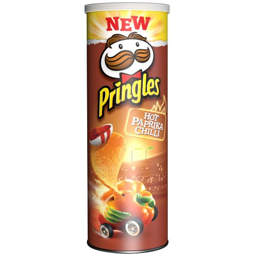Pringles Hot Paprika Chilli (190g)