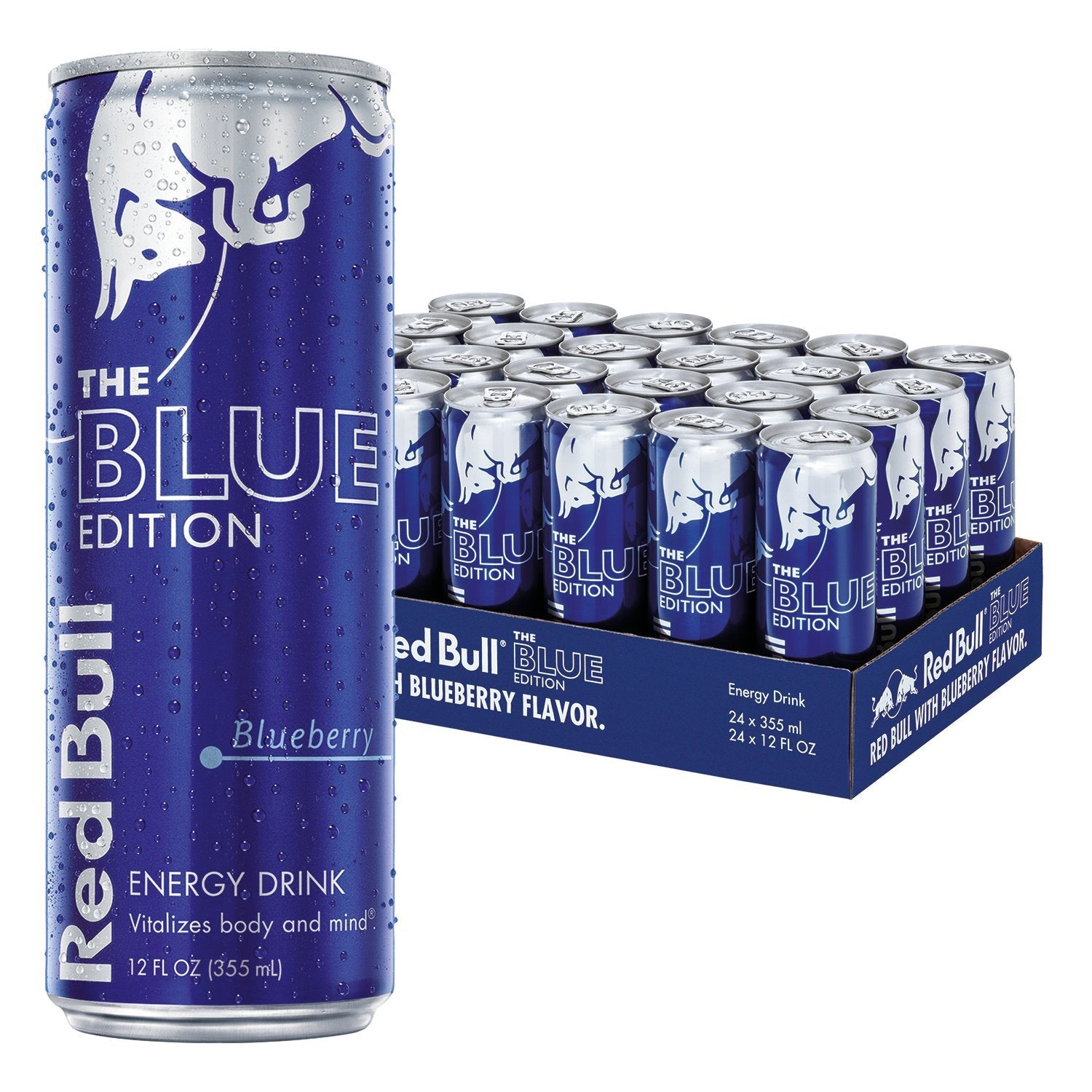 Red Bull Blue Edition 12-pack (12 x 25cl)