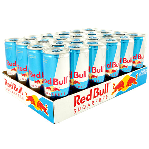 Red Bull Sokeriton Energiajuoma 24-pack (24 x 25cl)