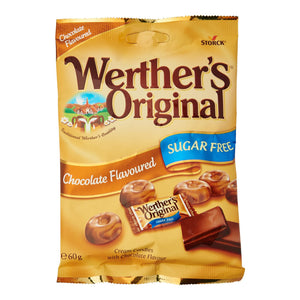 Werther's Chocolate Sokeriton (60g)