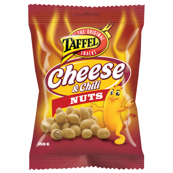 Taffel Cheese & Chili Nuts (150g)