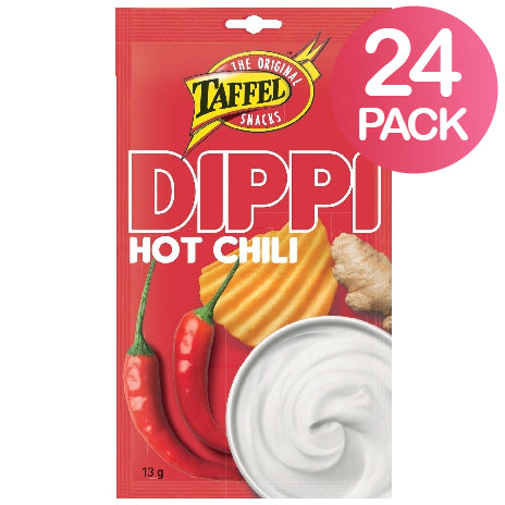 Taffel Dippi Hot Chili 24-pack (24 x 13g)