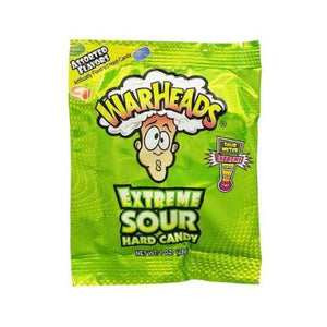 Warhead Extreme Sour Hard Candy (28g)
