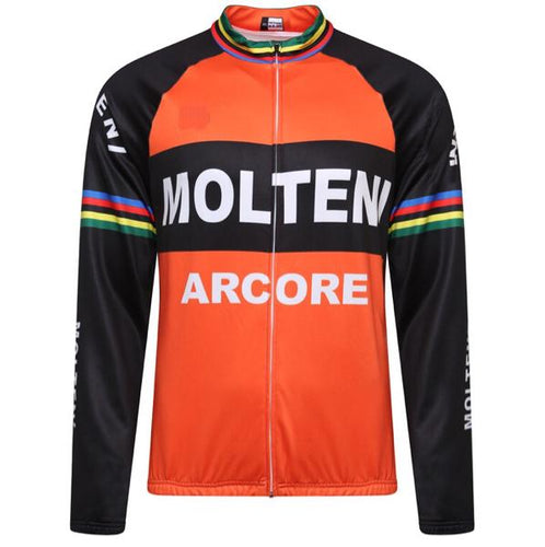 Molteni Thermal Retro Top Long Sleeve Orange