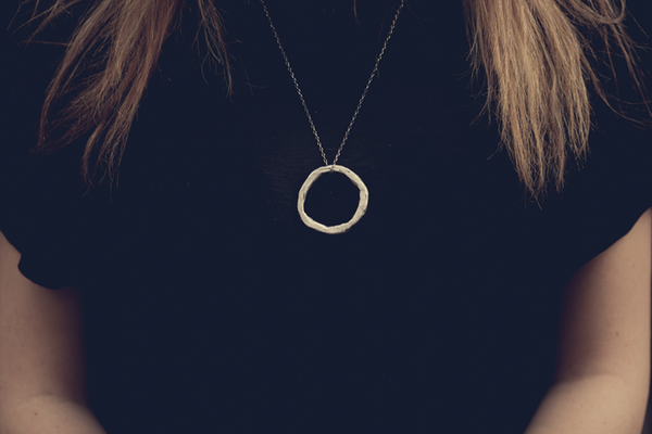 Ellipse necklace large