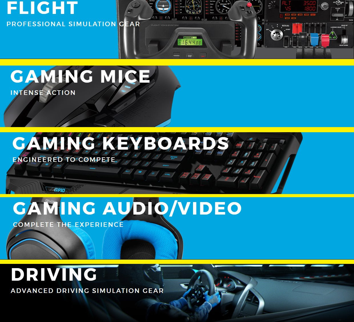 Logitech Australia Gaming Products Sale
