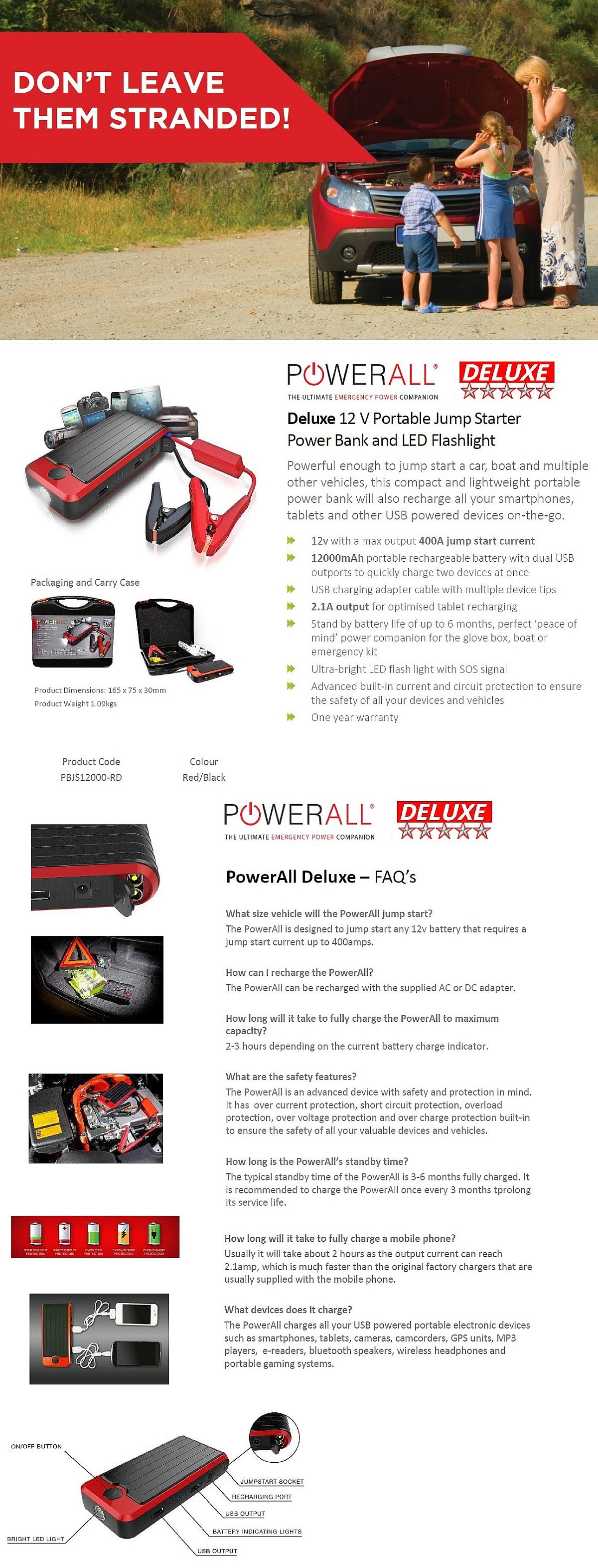 PowerAll Deluxe FAQ