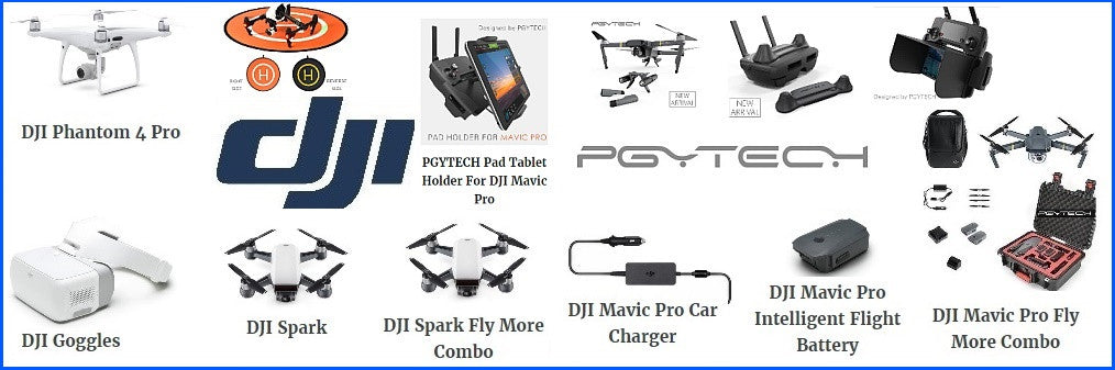 dji pgytech drones and accessories australia