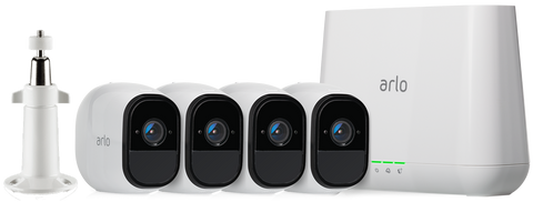 Netgear Arlo Pro Wire-Free HD Home Security 4 Camera System VMS4430
